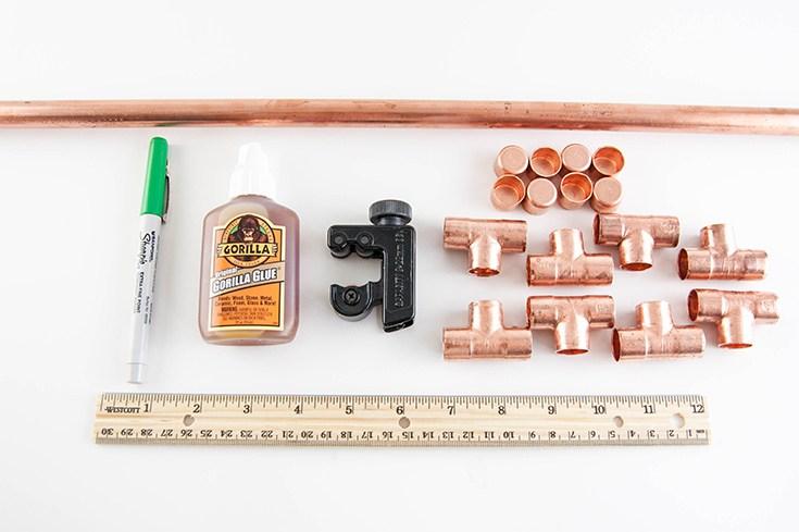 materiais necessário para construir uma estrutura para base de um vaso de plantas